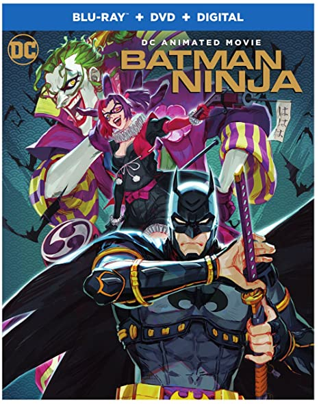Amazon Com Batman Ninja Blu Ray Dvd Koichi Yamadera Movies Tv