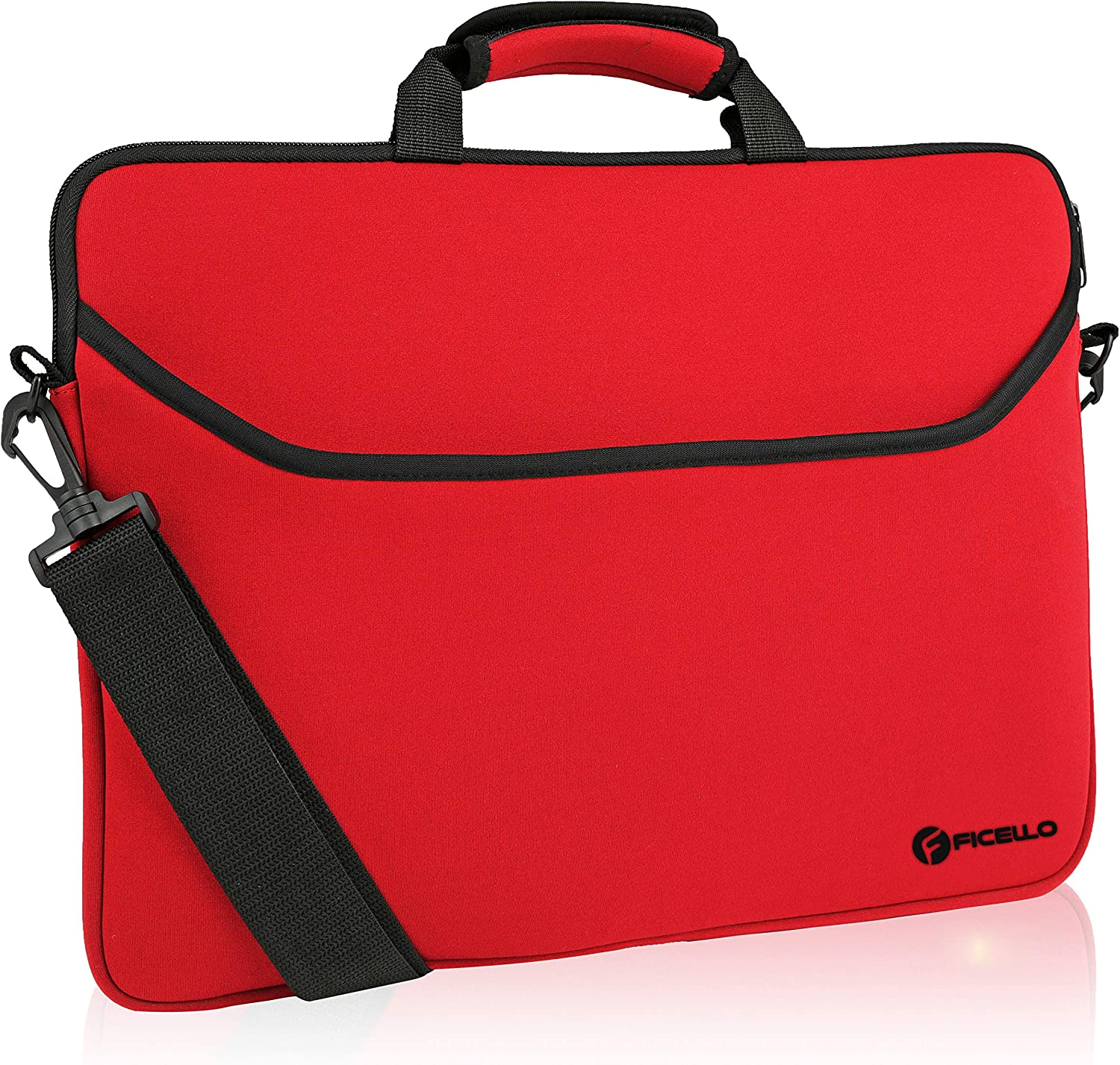 FamGo 15.6 Inch Laptop Case Laptop Carrying Bag with Shoulder Strap Water-resi
