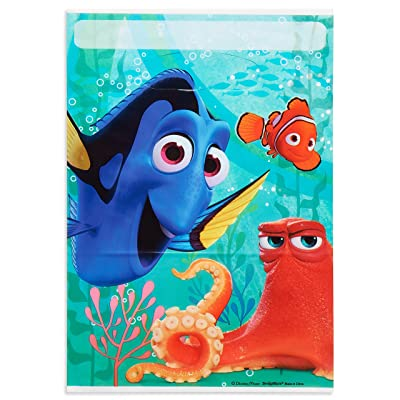 American Greetings Finding Dory Party Treat Bags (8 Count): Toys & Games