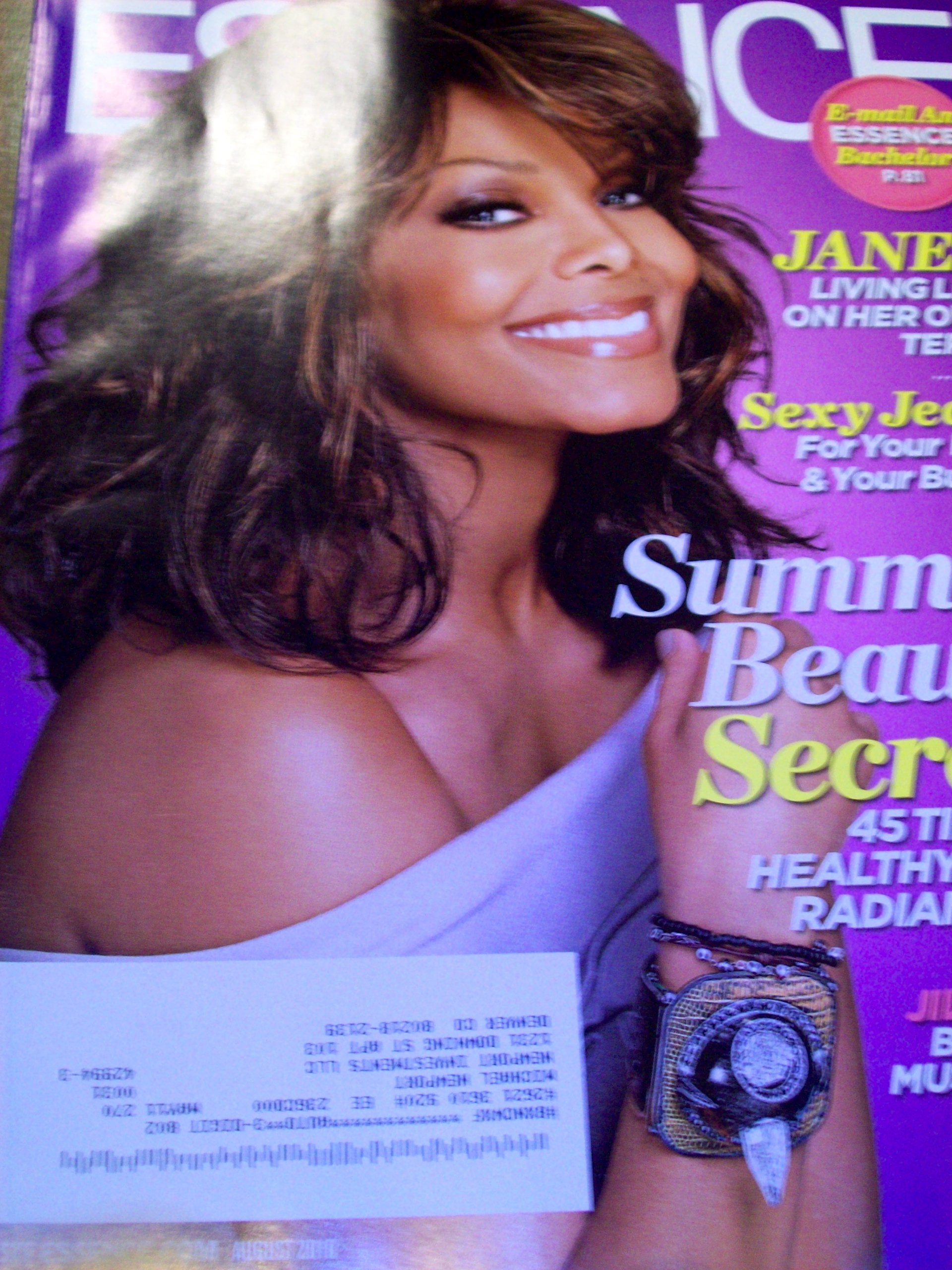 Read Online Essence August 2010 Janet Jackson Summer Beauty Secrets Jill Scott PDF