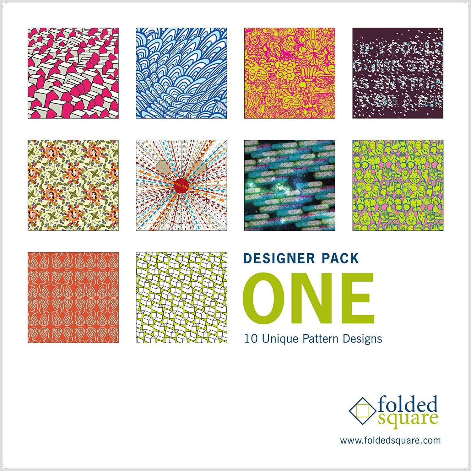 """6/"""" Square Designer Patterns Complete Collection 200 Sheets Origami Paper Gift Set"""