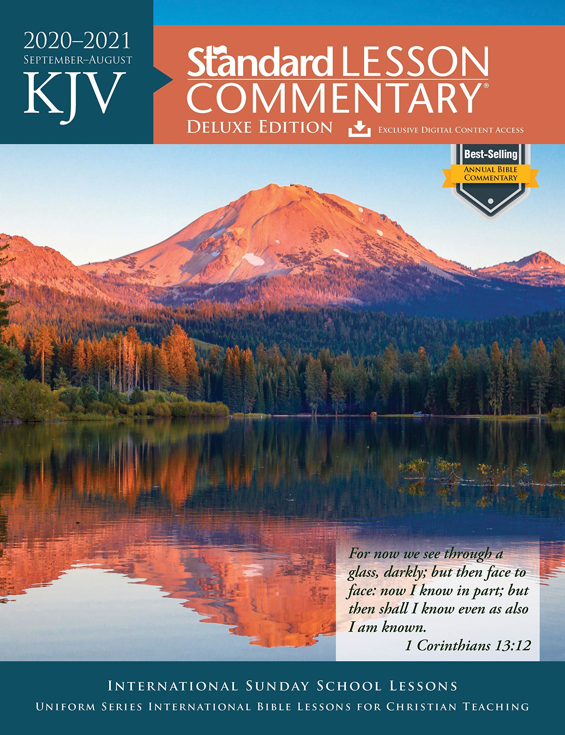 Best Study Bible 2021 KJV Standard Lesson Commentary® Deluxe Edition 2020 2021: Standard