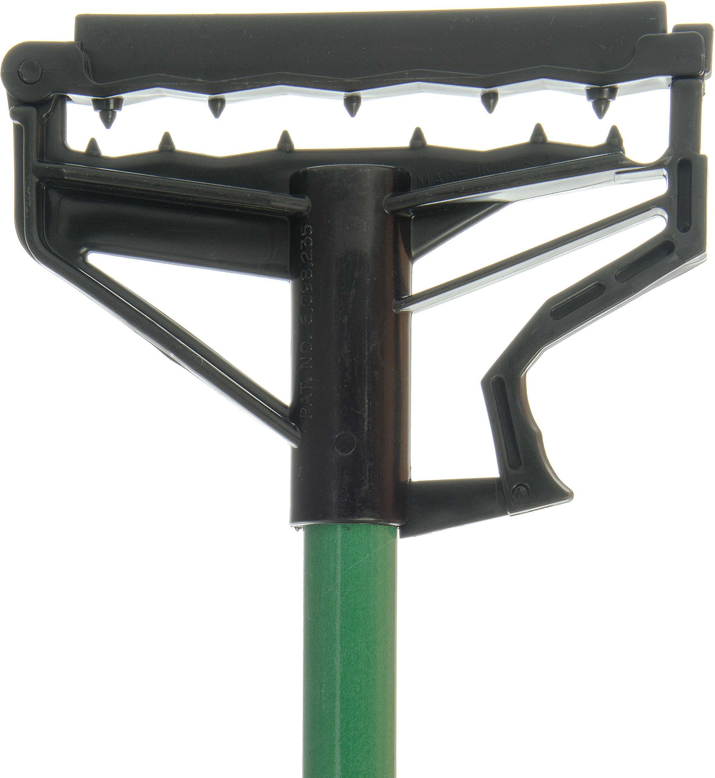 Carlisle 4166409 Commercial Side-Gate Fiberglass Wet Mop Handle, 60'', Green (Pack of 12) by Carlisle (Image #2)