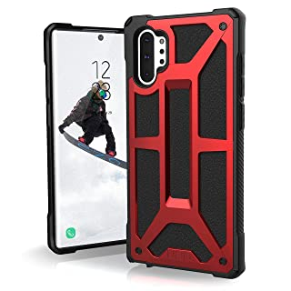 UAG Designed for Samsung Galaxy Note10 Plus [6.8-inch Screen] Monarch Feather-Light Rugged [Crimson] Military Drop Tested Phone Case