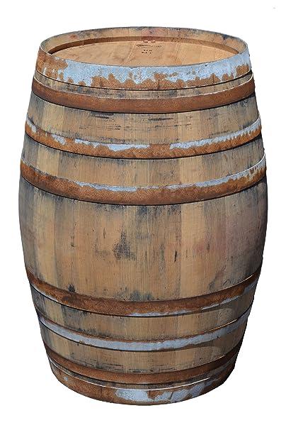 Tisch Weinfass Holz.Temesso Stehtisch Tisch Aus Holzfass Gartentisch Weinfass Fass Barrique Tisch Aus Eiche Holz Rustikal 225 Liter Rustikal Natur