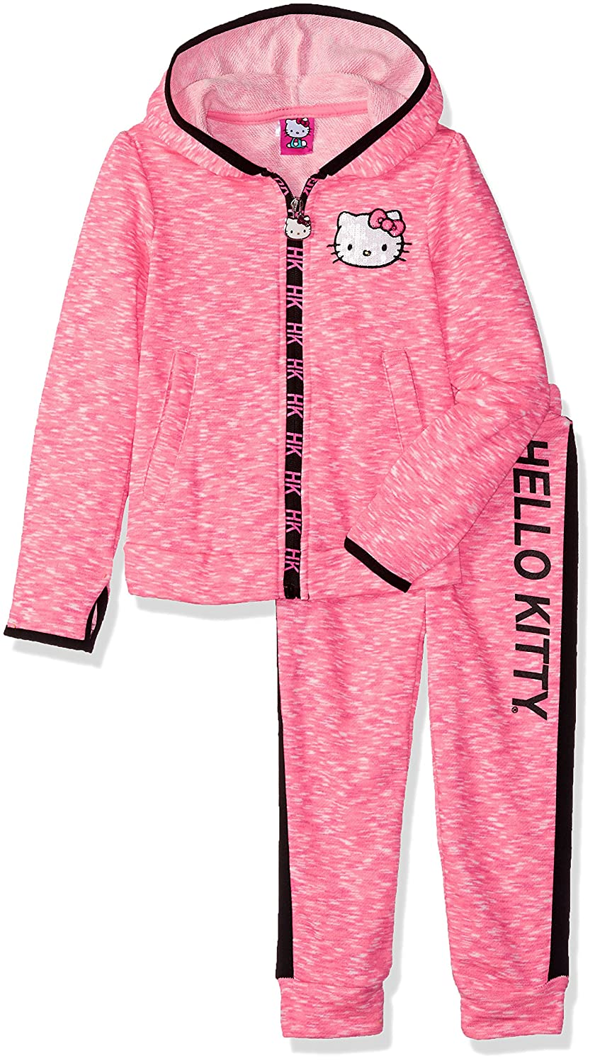 Hello Kitty Girls' 2 Piece Embellished Active Set
