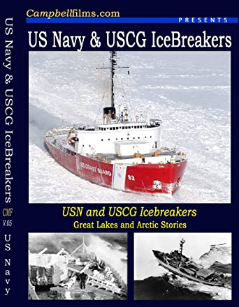 84ab37d3de2 Image Unavailable. Image not available for. Color: Navy Ice Breakers Coast  Guard WW2 IceBreakers Canada ...