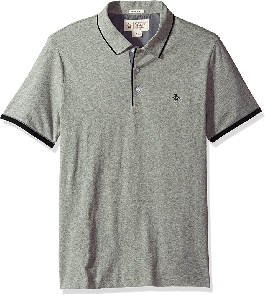 Original Penguin Hombres Original Penguin Mens Heathered Mearl ...