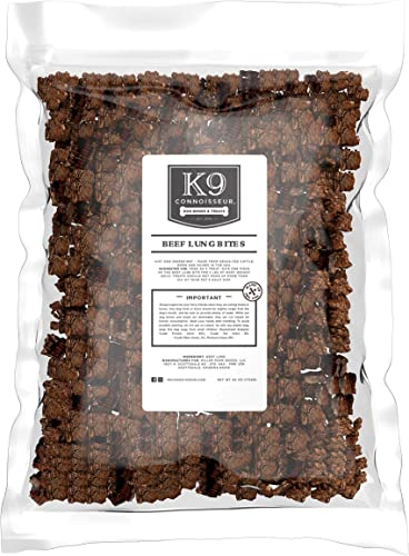K9 Connoisseur Single Ingredient Dog Treats Made in USA Odorless Grain Free Beef Chews Rich in Nutrients Best for Puppies Small Medium Large Breed Dogs