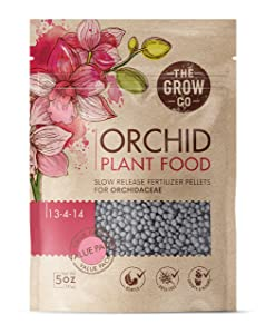 The Grow Co Bloom Booster Fertilizer Pellets for Orchids