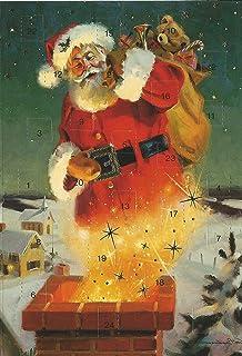 Weihnachten Nostalgisch.Weihnachts Karten Set 5 Karten Weihnachten Nostalgie X Mas