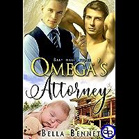 Omega's Attorney: Mpreg MM Alpha Omega Romance (Baby Makes Three Book 1) book cover