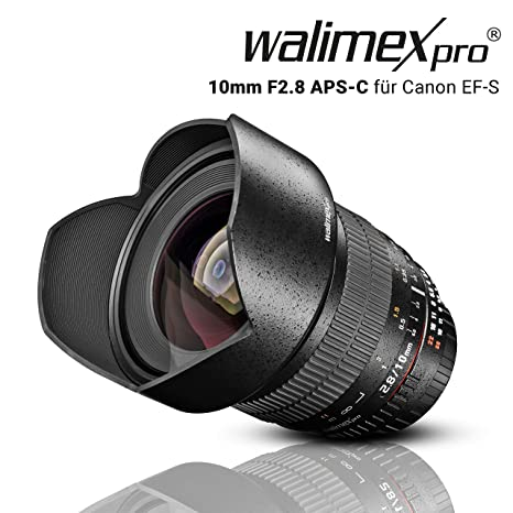 Walimex pro Black - Objetivo para Canon (Apertura f 2.8-22), Negro ...