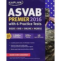 Kaplan ASVAB Premier 2016 with 6 Practice Tests: Book + Online [With DVD]