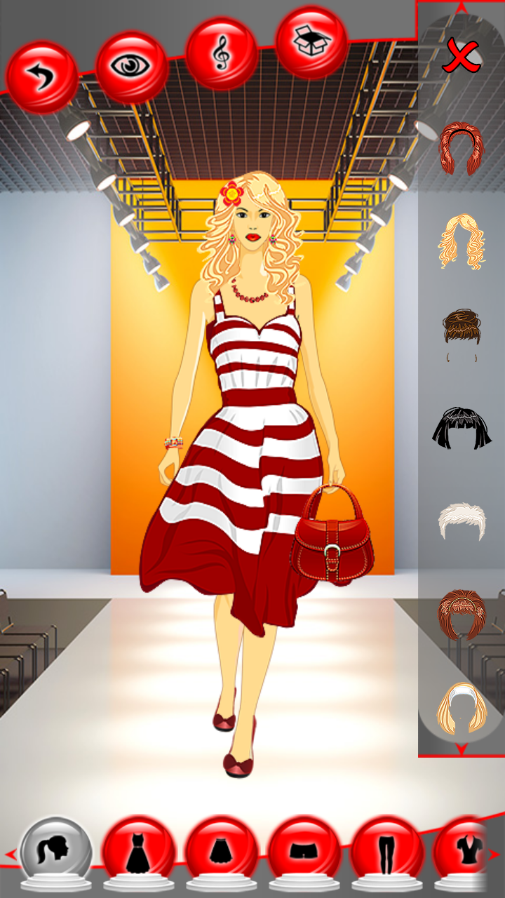 Amazon Com Fashion Model Dress Up Games Appstore For Android