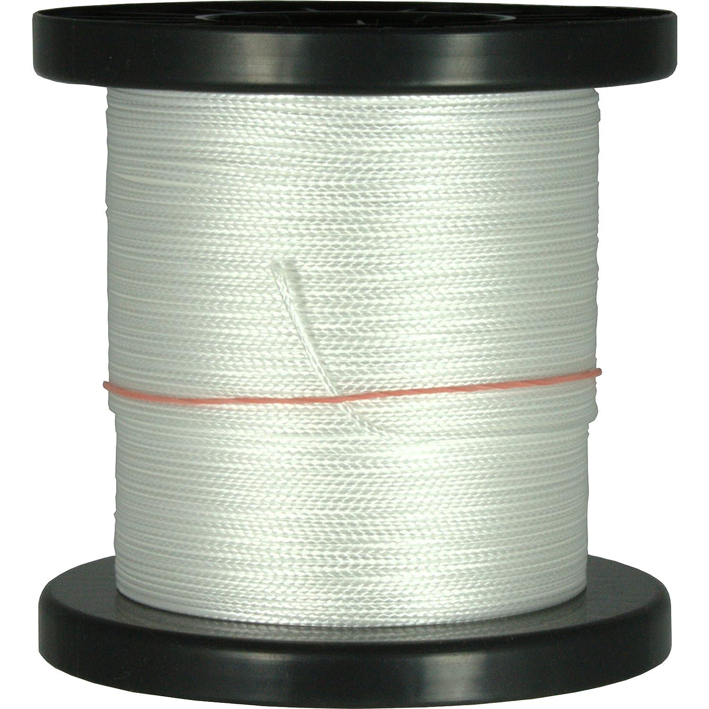 100m - 500m Dyneema Drachenschnur 30daN-500daN weiß 0,3mm-1,8mm sehr dehnungsarm geflochten Einleiner Lenkdrachen, Länge 500m, Durchmesser   Bruchlast 1.4mm 230daN