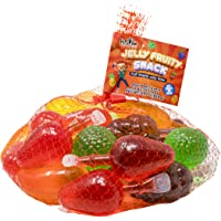 Fusion Select Jelly Fruity Snack Tik Tok Challenge Hit or Miss - Fruit-Shaped Jelly- Assorted Flavors, Strawberry…
