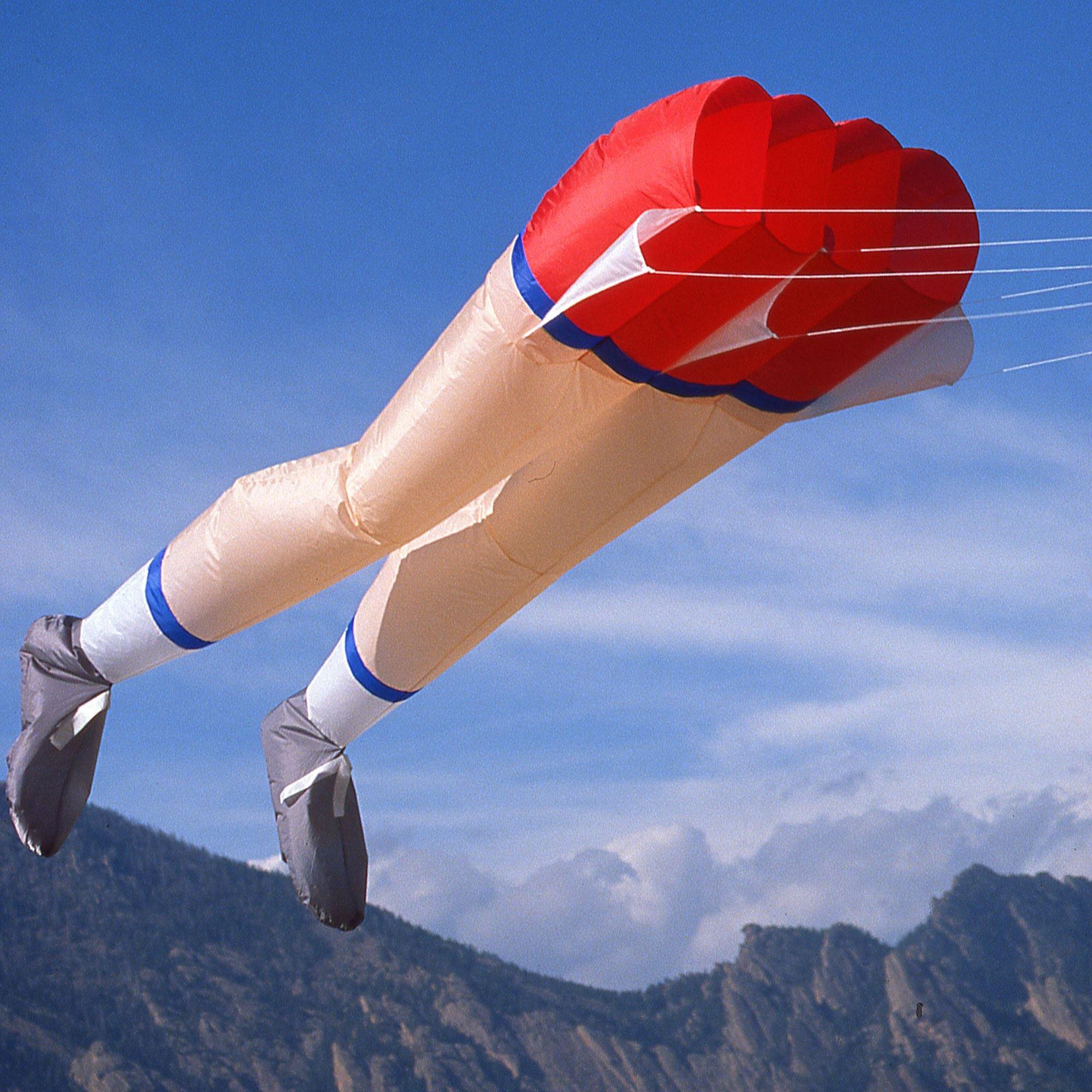Martin Lester Martin's Legs Kite by Martin Lester