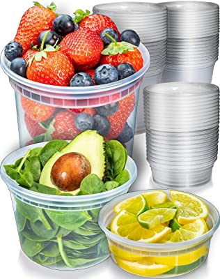 Containers With Lids By Prep