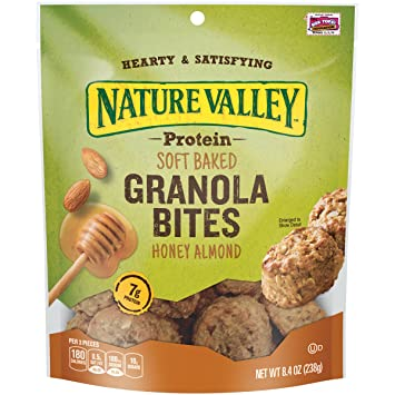 Amazon.com: Nature Valley Protein, Soft Baked Granola Bites ...