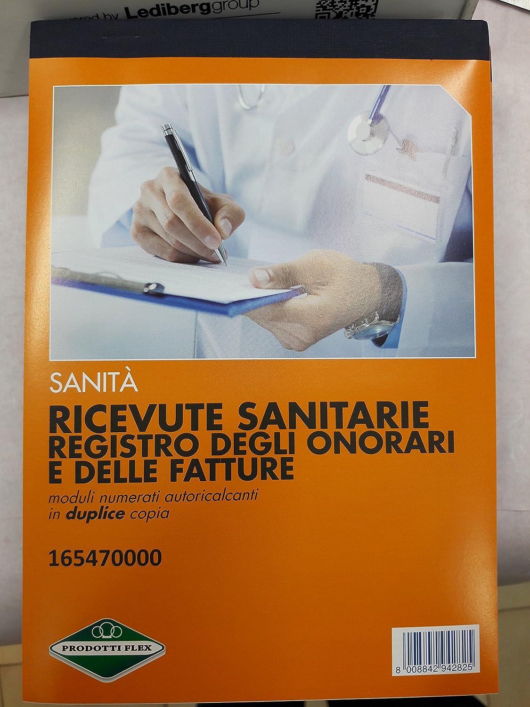 RICEVUTE SANITARIE 2 COPIE FLEX COD. 165470000