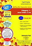 Study Set - Category 1 - Round 1 - School Level - Prepare for MARRS Spelling Bee competition exam. For pre purchase queries whatsapp 9820354672