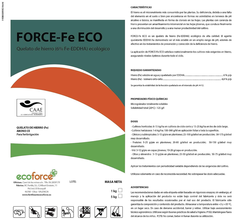 QUELATO DE Hierro 1Kg ECOLÓGICO ¡¡ Precio DE FABRICA!!: Amazon.es: Jardín
