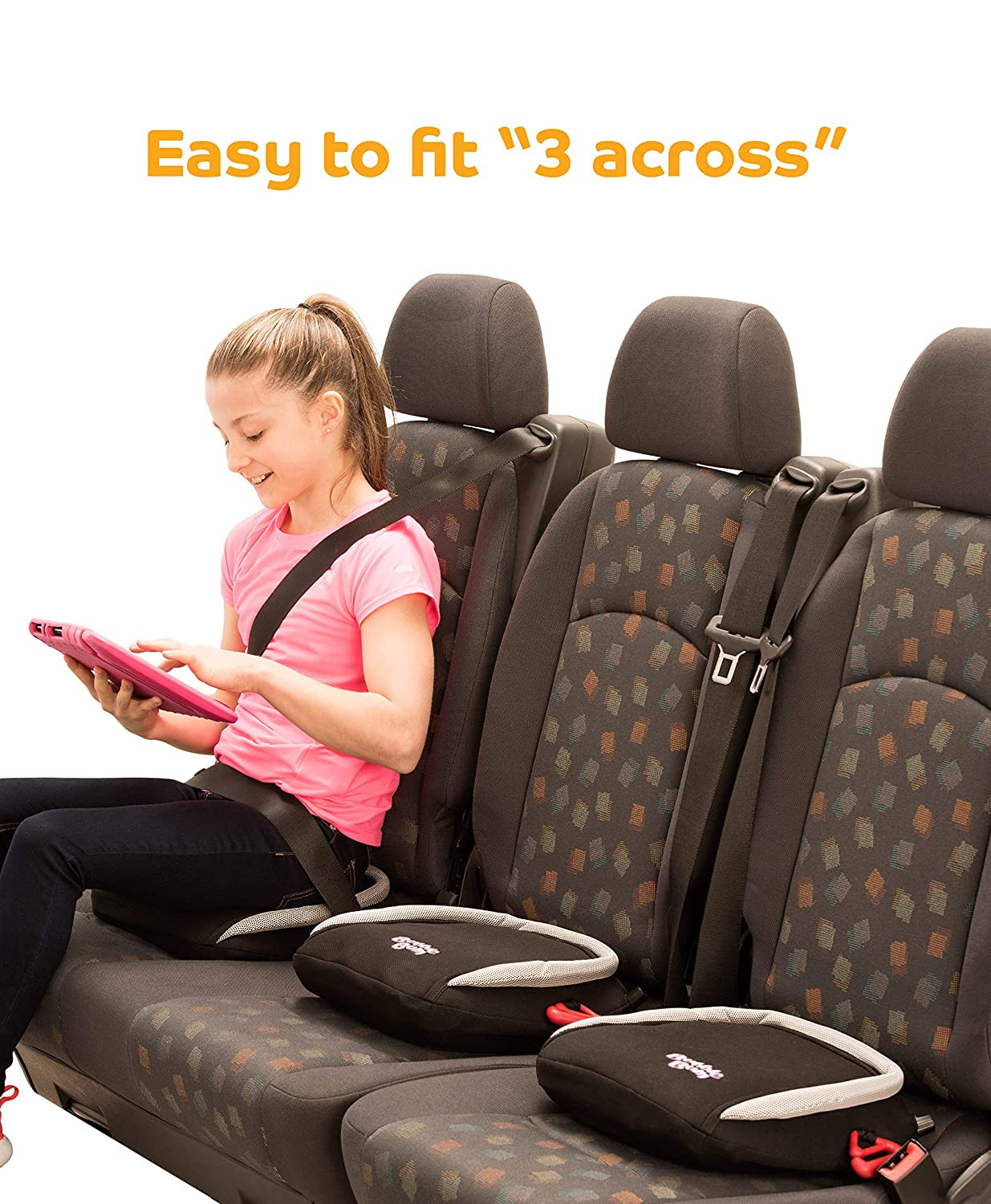 Amazon.com: BubbleBum - Asiento hinchable para coche, Negro ...