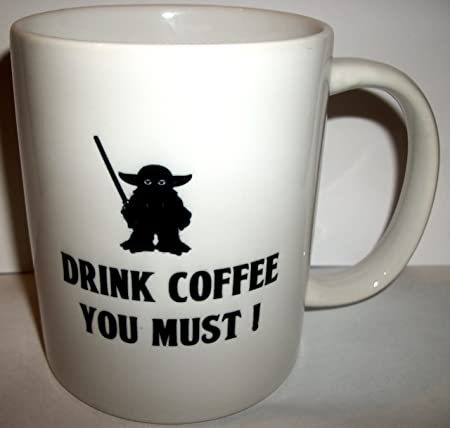 Coffee Ceramic uk MugAmazon Starbucks Star co Wars Yoda Parody 3ARjL54