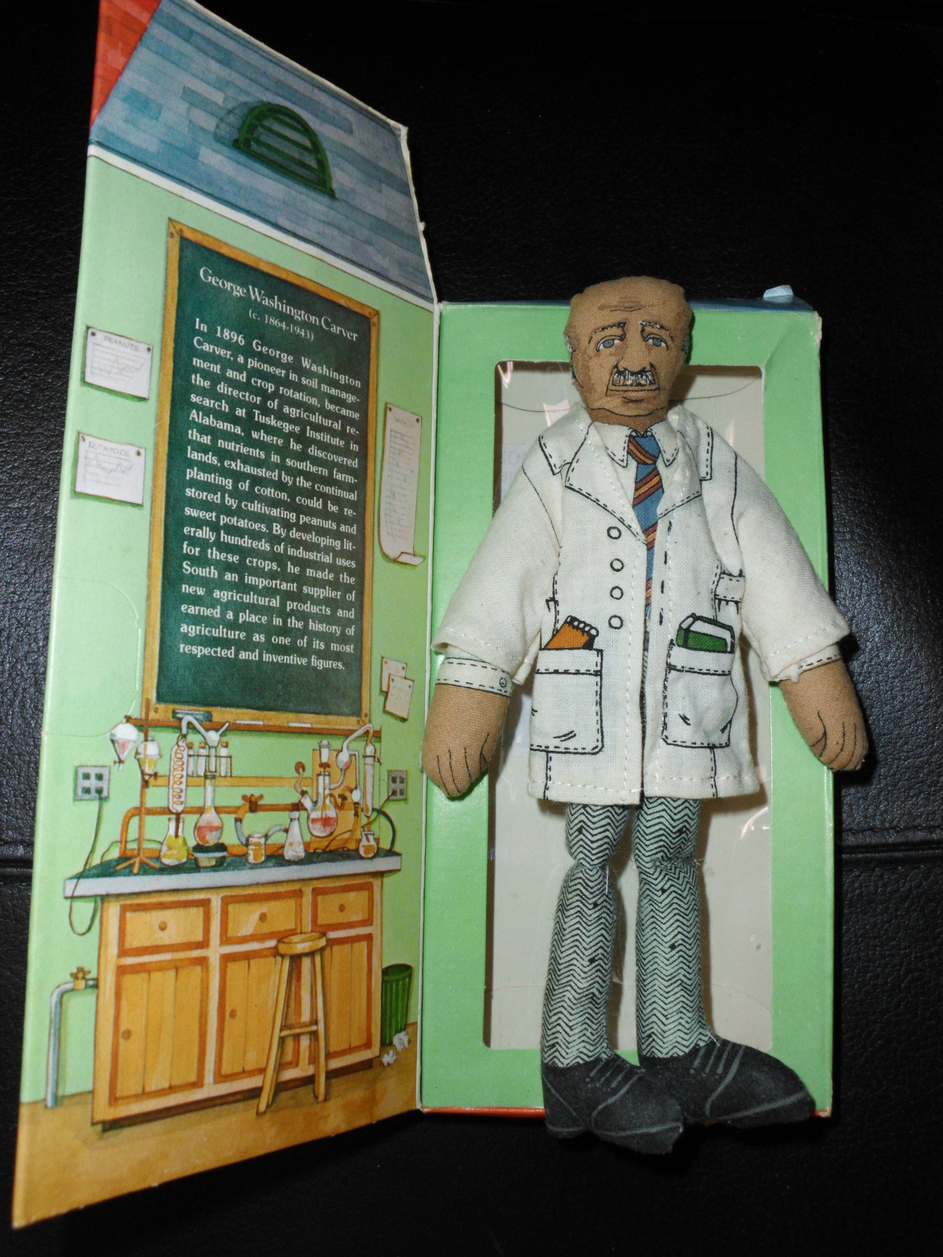 Hallmark Collectible Doll - George Washington Carver, Famous Americans Series 1