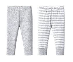 Lamaze Baby Unisex Organic Essentials 2 Pack Pants