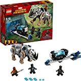 Lego Kids 'Marvel Black Panther Rhino Face-Off By The Mine' Set - 76099