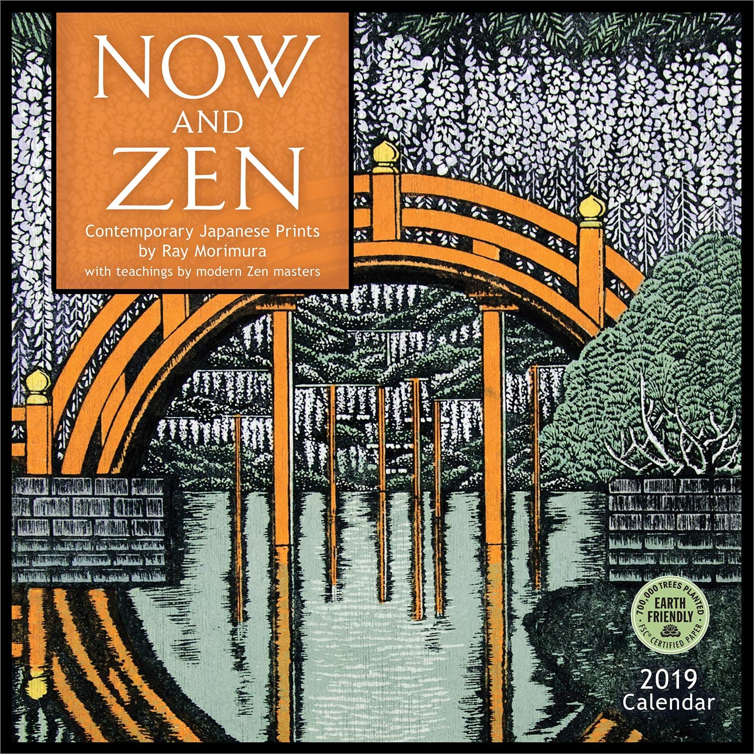now and zen 2019 wall calendar contemporary japanese prints by ray morimura