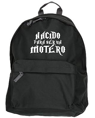 HippoWarehouse Nacido Para ser Motero kit mochila Dimensiones: 31 x 42 x 21 cm Capacidad: 18 litros: Amazon.es: Zapatos y complementos