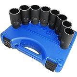 Astro Pneumatic Tool 78868 12-Point Axle Nut Socket Set (8 Piece)