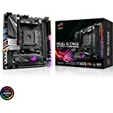ASUS ROG Strix X470-I Gaming AMD Ryzen 2 AM4 DDR4 HDMI M.2 Mini-ITX Motherboard with 802.11ac Wi-Fi