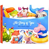 Baby Memory Book Boy and Baby Memory Book for Girls Baby Memory Book with Monthly Baby Stickers the cutest Baby Girl Memory Book