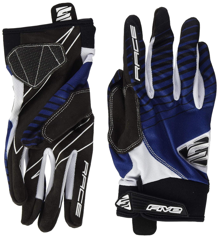 FIVE BMX Race Gants de vélo Adulte Unisexe, Bleu Marine, XL