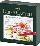 Faber-Castel Pitt Artist Brush Pens (24 Pack), Multicolor