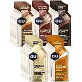 GU Energy Original Sports Nutrition Energy Gel, Assorted Indulgent Flavors, 24-Count