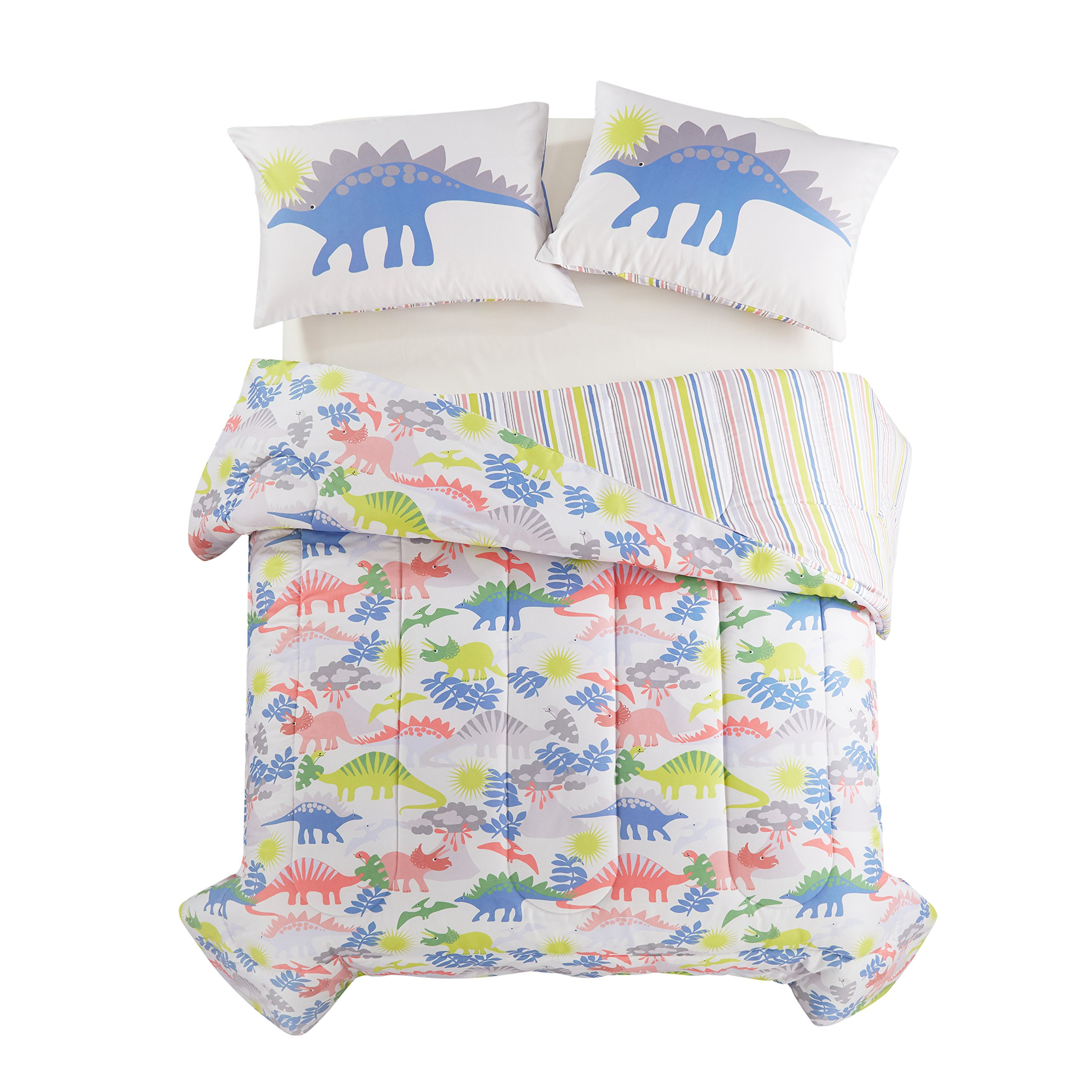 Heritage Kids Dino Roar Bed in a Bag, Multi, Full
