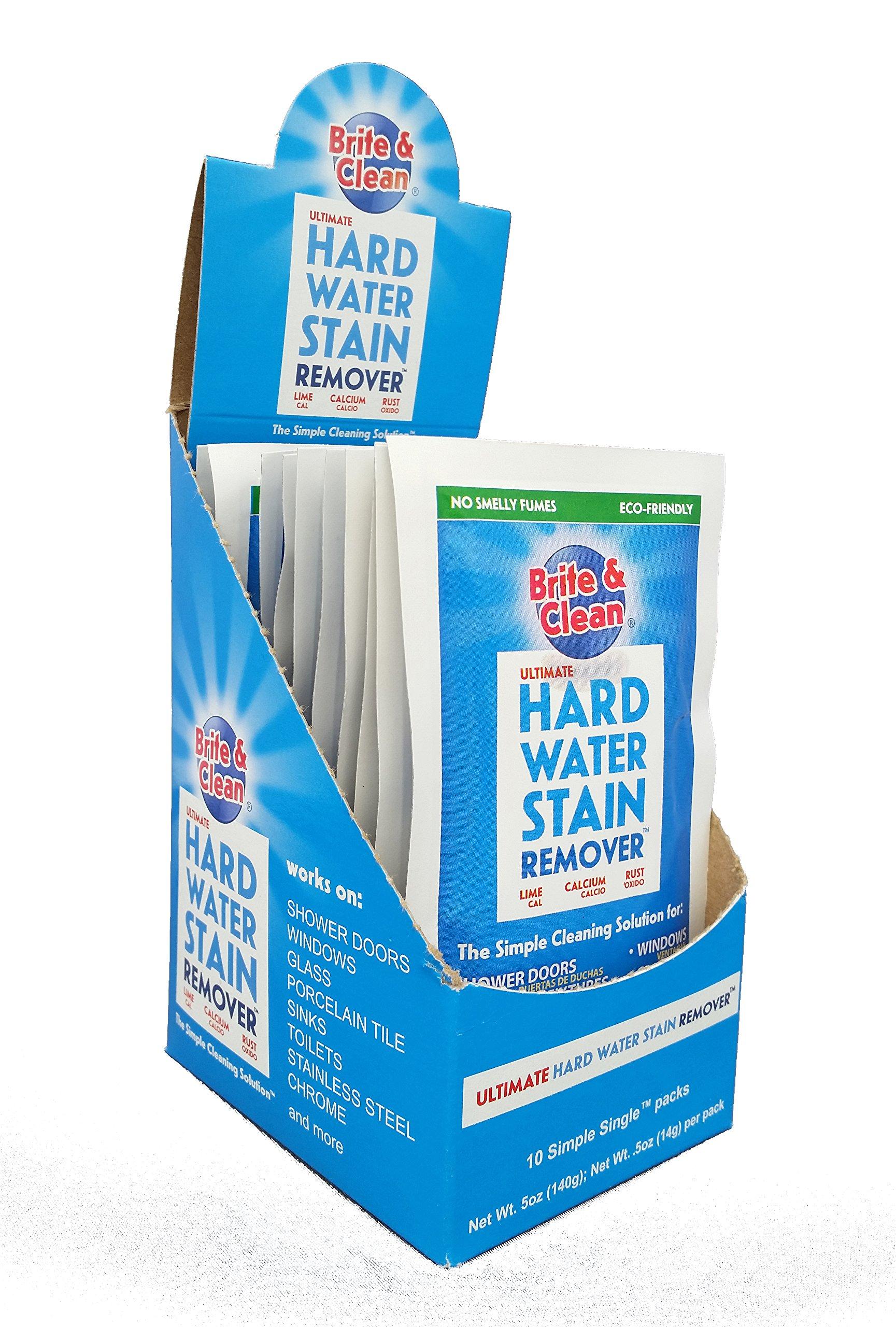 Amazon.com: Brite & Clean Ultimate Hard Water Stain Remover: Health ...