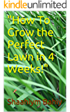 How To Grow a Perfect Lawn in 4 Weeks! (English Edition)
