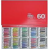 ホルベイン  透明水彩絵具 60色セット W411 5ml(2号)