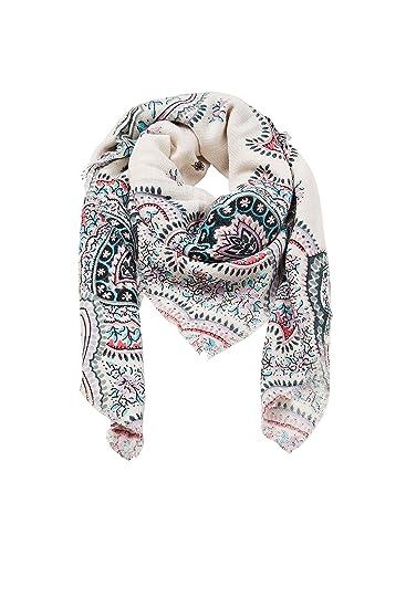 edc by Esprit Accessoires 127ca1q011, Echarpe Femme, Blanc (Off White 110), 07467c9e5ff