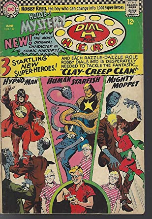 afdaa917735 Amazon.com  House of Mystery Dial H for Hero 2 book DC lot 159 VG ...