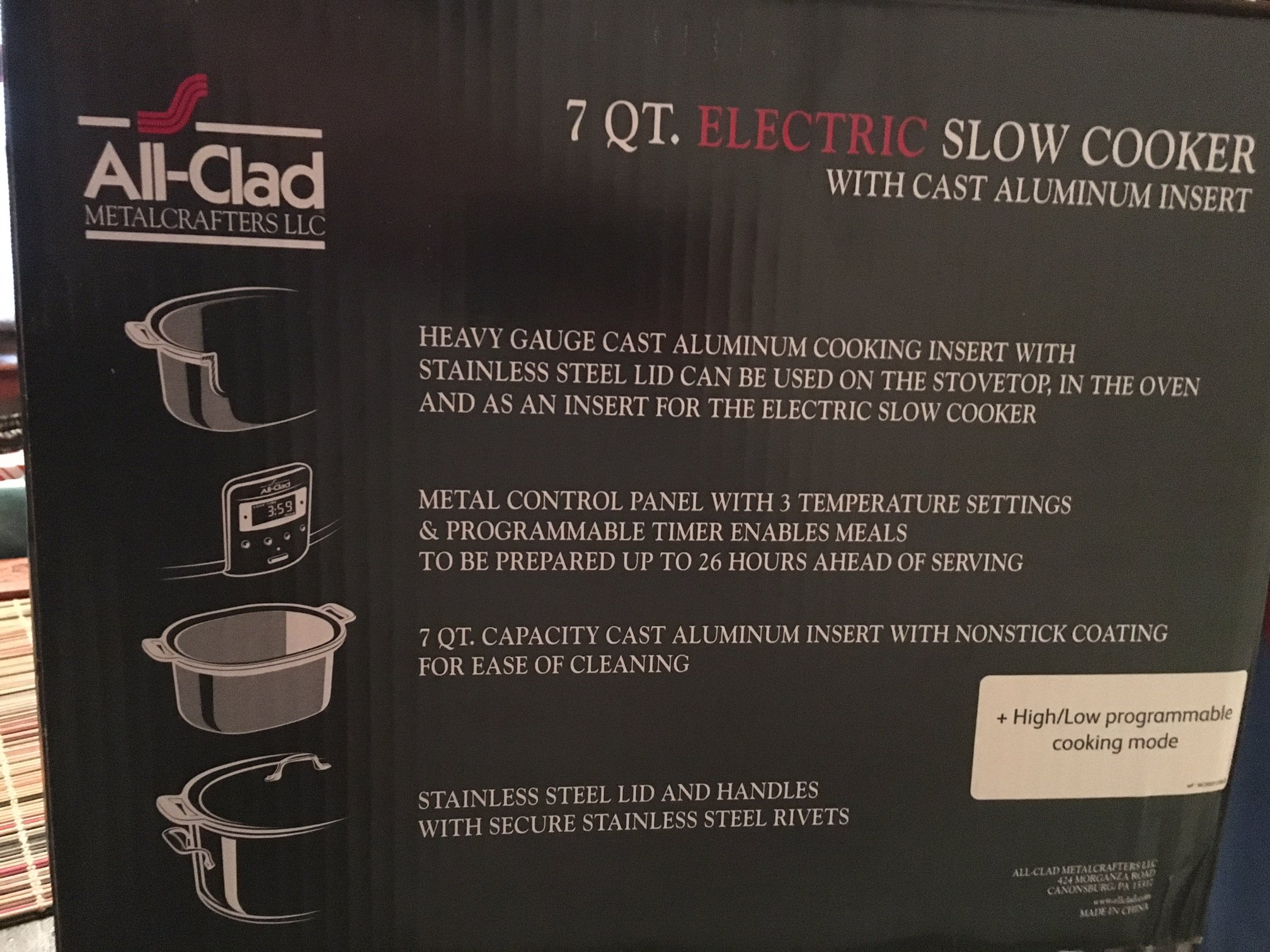 All-Clad Deluxe 7-QT. Slow Cooker by All-clad