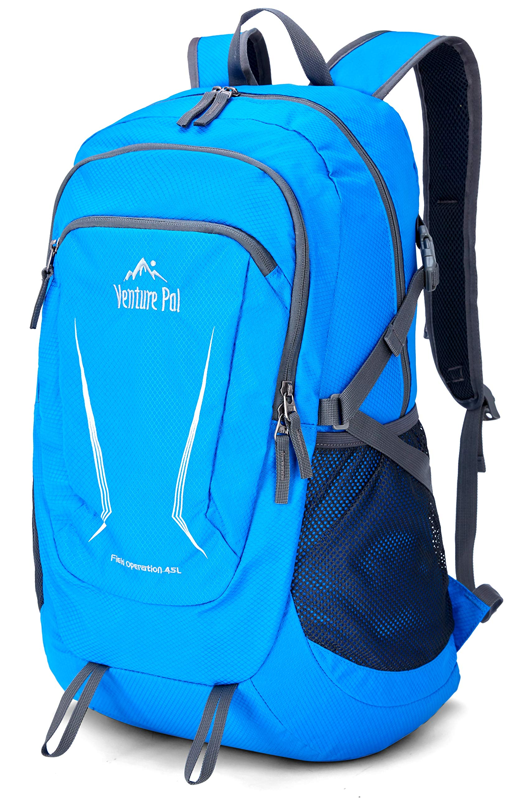 9c85cab2f2 Venture-Pal-Large-45L-Hiking-Backpack-Packable-Lightweight-Travel-Backpack- Daypack-for-Women-Men-Blue