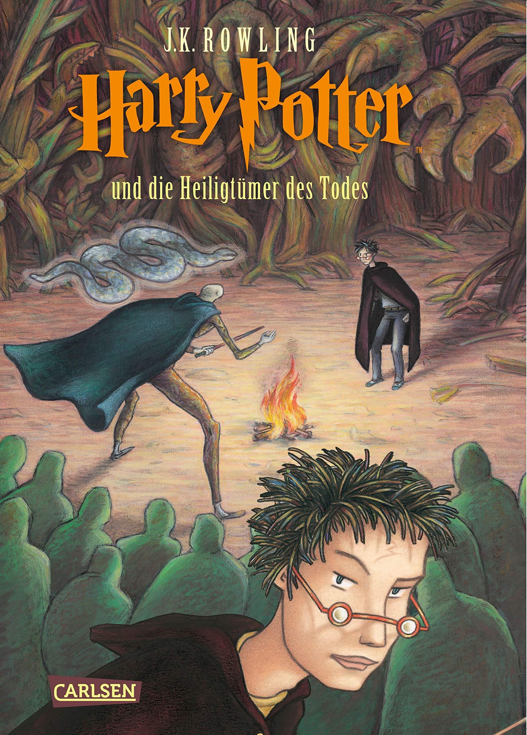 Harry Potter 7 Td German Edition J K Rowling 9783551577771 Amazon Com Books