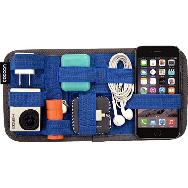 Earphones Cable Travel Storage Organizer for Phone COCOON CPG5BK Charger